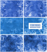Large Blue Watercolor Texture Pack Resource