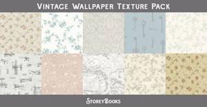 Vintage Antique Wallpaper Background Texture Pack