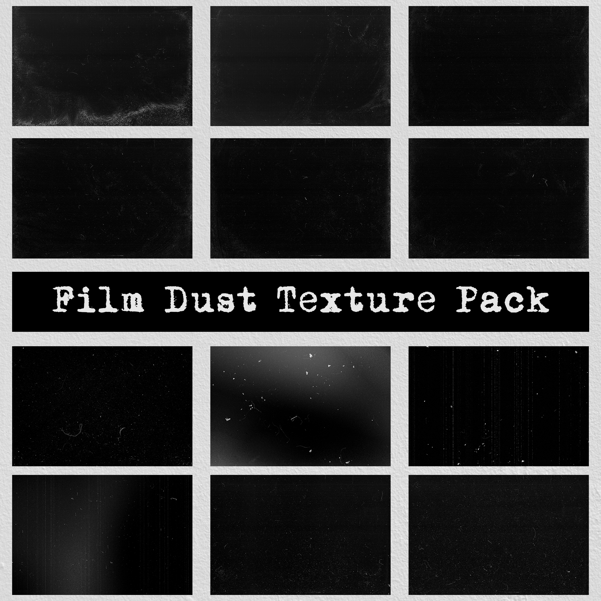Film Dust Dark Grunge Background Texture Pack