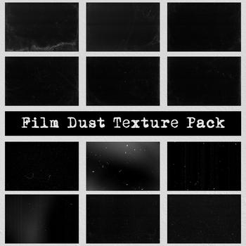 Film Dust Dark Grunge Background Texture Pack