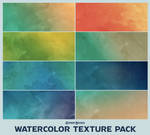 Large Watercolor Texture Stock Resource Pack