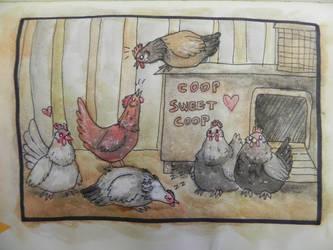 Start of a Chicken's Journey