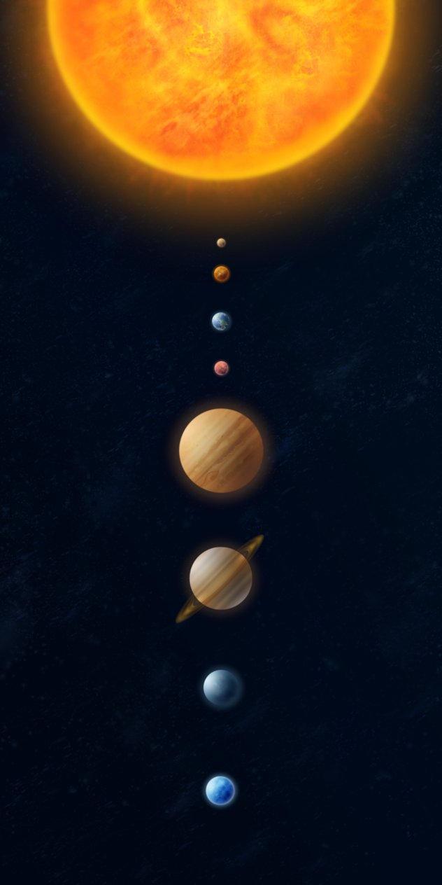 Solar System by Dobrotek on deviantART