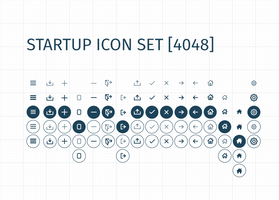 Startup Icon Set (OVER 4000 ICONS!)