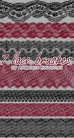 7 Lace Brushes