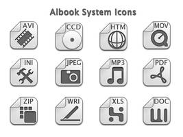 Albook System Icons by cosmicmatrox
