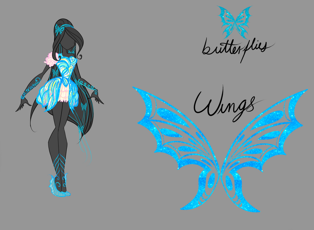 Winx: Butterflyix Adoptable CLOSED by DragonShinyFlame