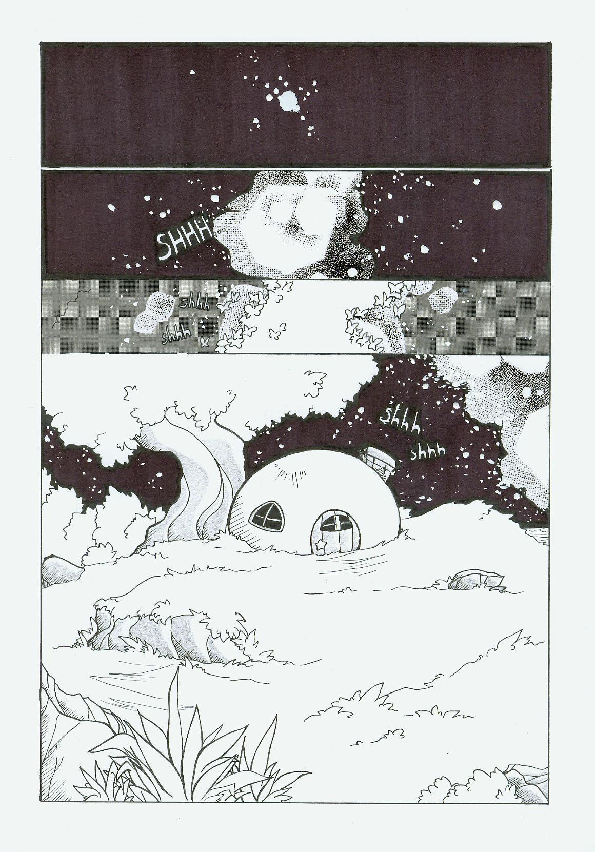 Kirby Doujinshi Prologue by AgentHisui on DeviantArt