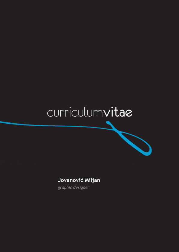 Curriculum Vitae By Kllof On Deviantart