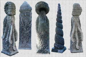 statues totem png by gd08