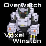 Overwatch Voxel Winston