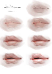 Lips Stepbystep