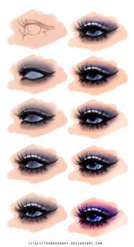 Misty Eye Tutorial (Free HQ Psd Download)