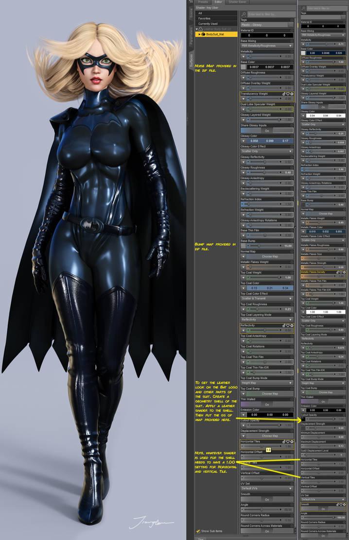 Batgirl Movie Suit Tutorial By Tiangtam On Deviantart