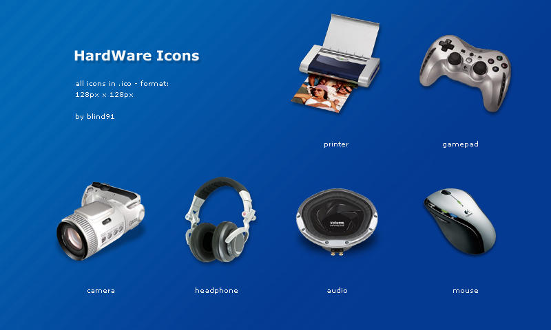 hardware icons by blind91