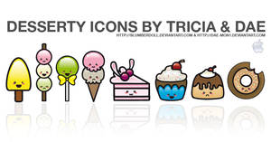 Desserty Icons for Mac