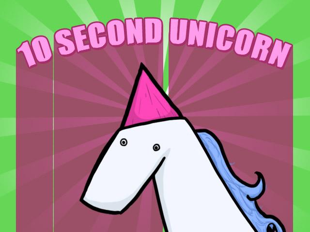 10 second unicorn (Ludum Dare)