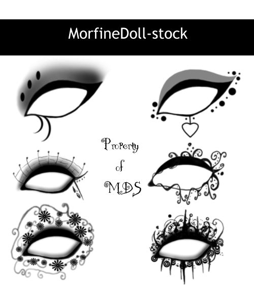 MDS EyeShadow by MorfineDoll-stock