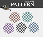 Set 01 - Pattern for Gimp