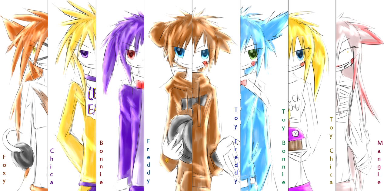 Trapped part 7 human fnafxreaderxocs by cometfire21 on deviantart