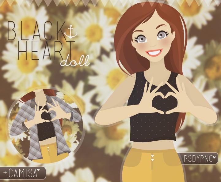 +BlackHeart doll by MrsNarniaSwag