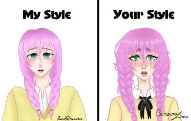 My style/ Your style meme by mylittledeadbunny