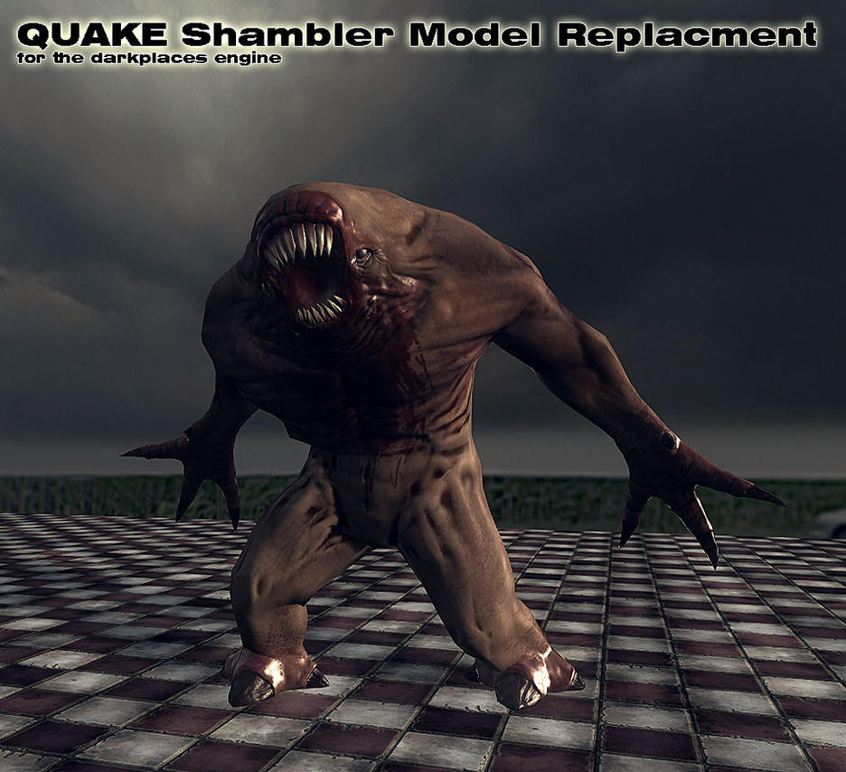 Quake Shambler remodeled by FredrikH on DeviantArt Quake Shambler