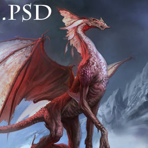 Red dragon PSD
