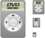 DVD Player Icon by mikevickrocks