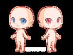 Pixel doll base