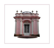 Pink Castle by PrincessInHeaven