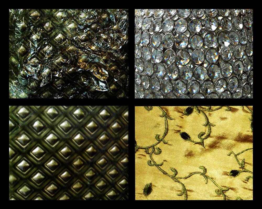 Green Glitter Textures by letinhastock