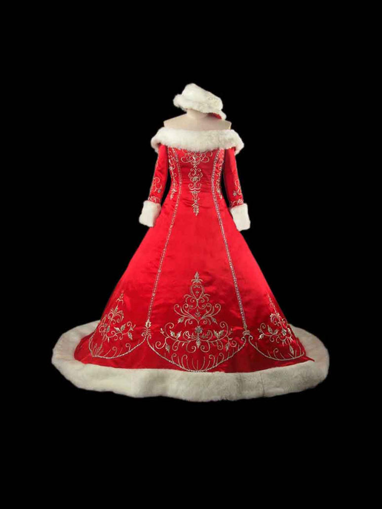Bridal christmas dress by letinhastock on deviantart