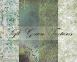 Soft Green Textures by PrincessInHeaven