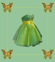Fancy Green Dress by PrincessInHeaven