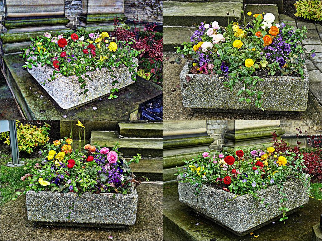 Flower Planters by PrincessInHeaven on DeviantArt