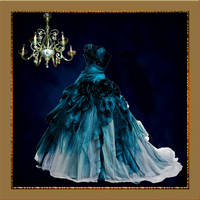 Blue Dress by PrincessInHeaven
