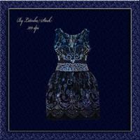 Blue Fantasy Dress by PrincessInHeaven