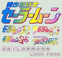 Sailormoon series logo pack by Bleuette