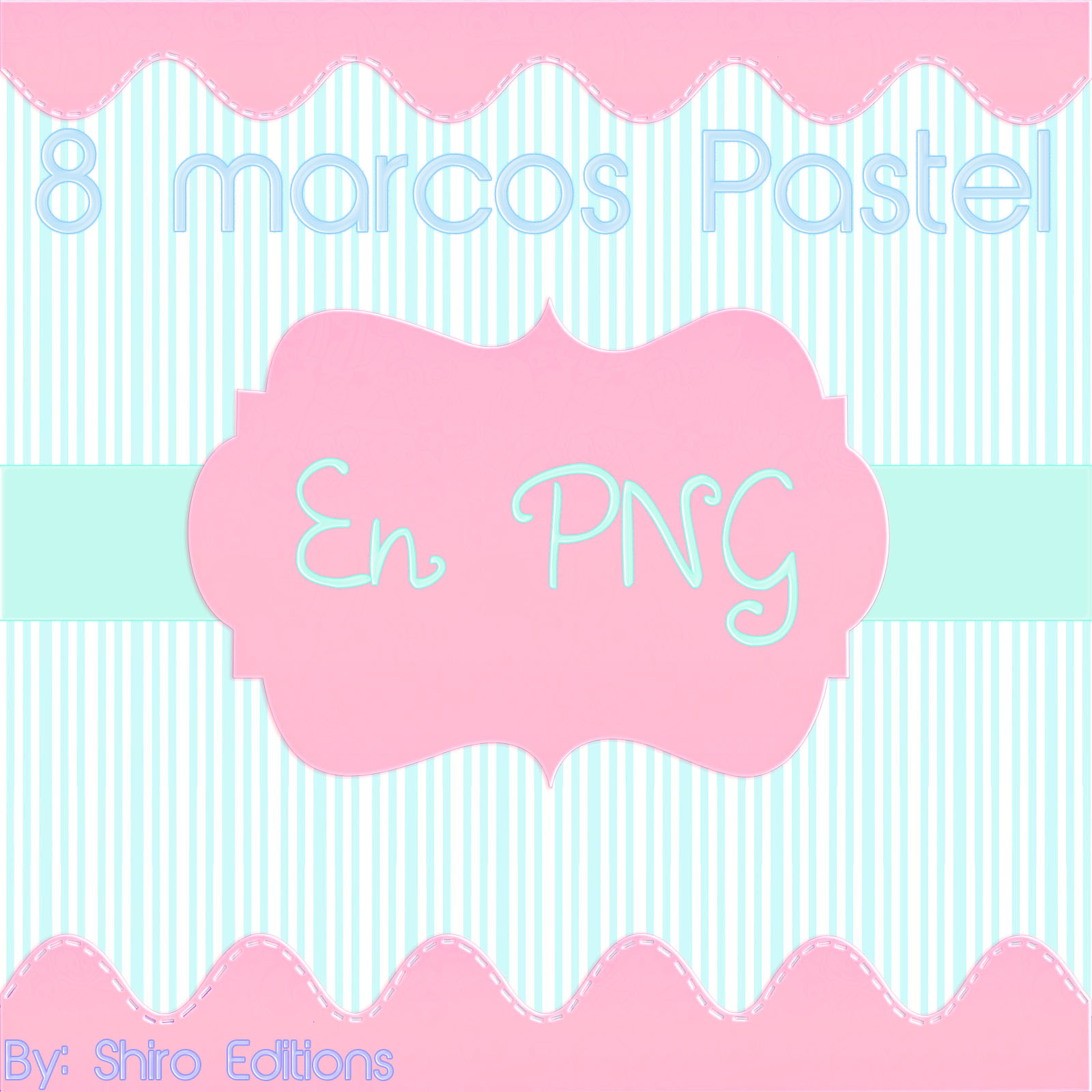 Marcos para photoshop png by shiroeditions on deviantart - Marco fotos pared ...