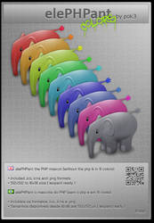 elePHPant - in colors