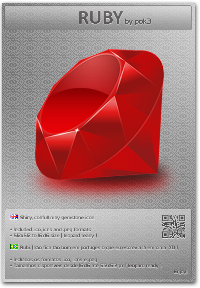 Ruby icon by pok3
