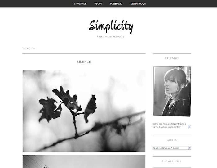 Free blogger template simplicity by tasnimez on deviantart free blogger template simplicity by tasnimez pronofoot35fo Choice Image