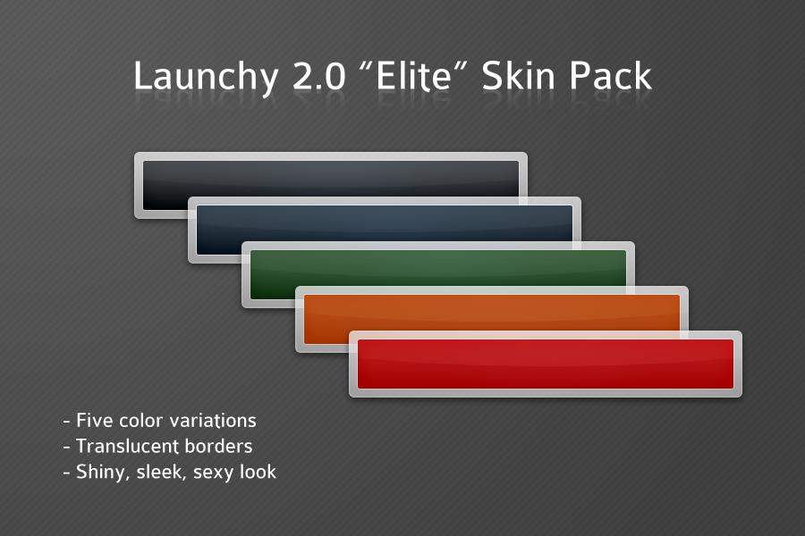 Launchy Elite Skin Pack by clarson04 on DeviantArt