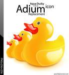 Aqua Ducky Dock Icon