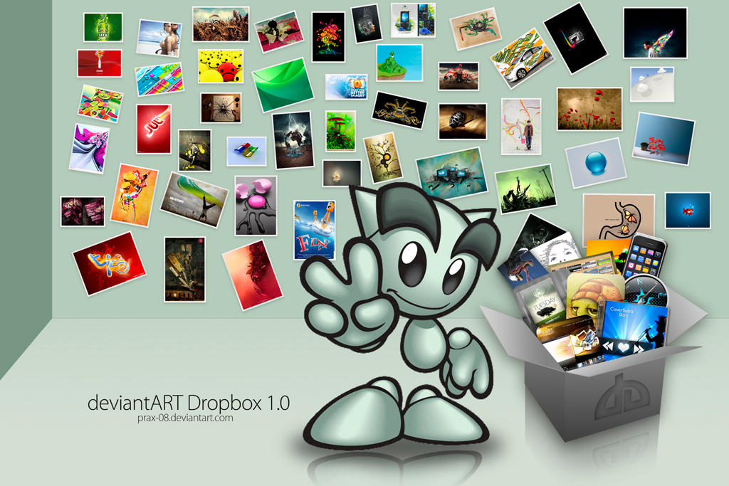 dA Dropbox by PraX-08
