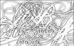 Outline Swirlies brushes