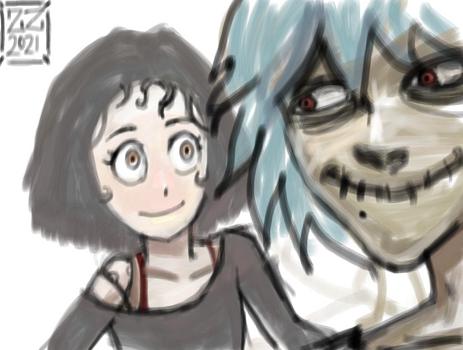 Would you draw my OC with Shigaraki