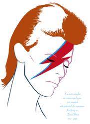 Bowie memorial by RomanJones