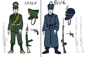 Teeth in the Fields uniforms reference